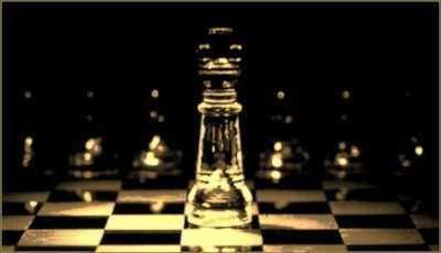 King Piece on a chessboard